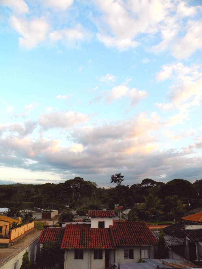 Borjas From The Roof--Gracias Lempira, Honduras